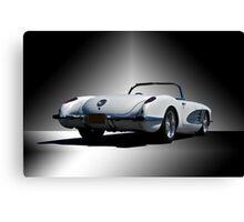1959 Corvette Roadster Studio III Canvas Print