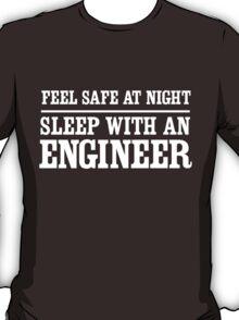 Feel safe at night sleep with an engineer T-Shirt