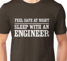 Feel safe at night sleep with an engineer Unisex T-Shirt