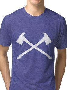 Firefighter Axe Tri-blend T-Shirt