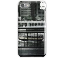 Heading home along the river iPhone Case/Skin