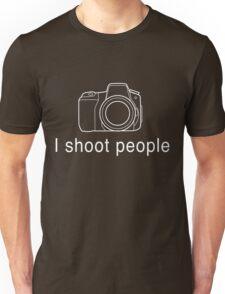 Photographer. I shoot people Unisex T-Shirt