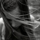 The wind blows through her hair by kerryvarnum