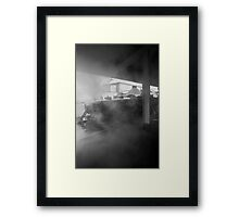 Not Quite Brief Encounter  Framed Print