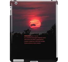 Lost Words: Paracosm 2 iPad Case/Skin