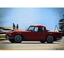 Car and Boat Photographic Print