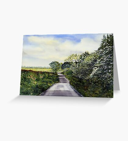 Woldgate - Late Spring Greeting Card