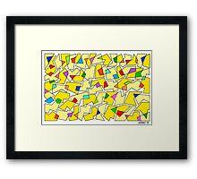 FIGURATIVE ARTWORK Framed Print