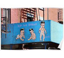 Hanksy Art - NYC Poster