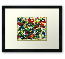 DOT ART Framed Print