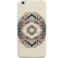 Radial Typography  iPhone Case/Skin