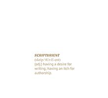 Lost Words: Scripturient by One Future Foundation