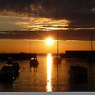 Harbour at Sunrise in August by Aoife McNulty