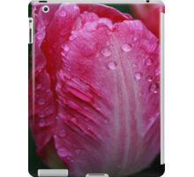 Pink Summer Rain iPad Case/Skin
