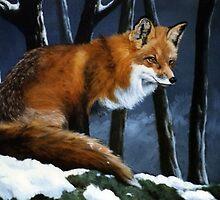 Red Fox Alert by Alan Lewis