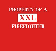 Property of a firefighter Womens Fitted T-Shirt