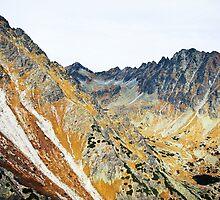 High Tatras in Fall I. by Zuzana Vajdova