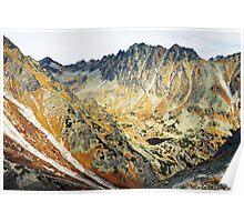 High Tatras in Fall II. Poster
