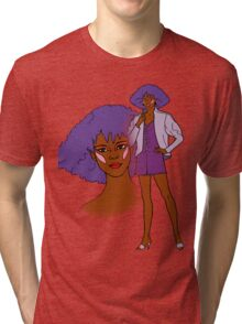 Jem and the Holograms - Shana - Color Tri-blend T-Shirt