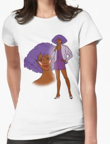 Jem and the Holograms - Shana - Color Womens Fitted T-Shirt