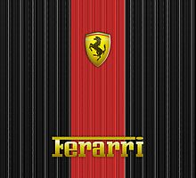 For the Love of Ferrari #3 by V-Art