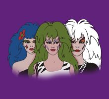 Jem and the Holograms - The Misfits - Group Color T-Shirt