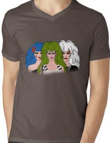Jem and the Holograms - The Misfits - Group Color Mens V-Neck T-Shirt