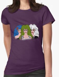 Jem and the Holograms - The Misfits - Group Color Womens Fitted T-Shirt