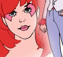 Jem and the Holograms - Kimber - Color Sticker