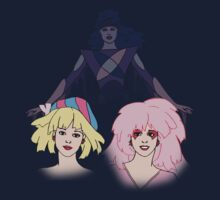 Jem and the Holograms - Jerrica/Jem with Synergy - Color Kids Tee