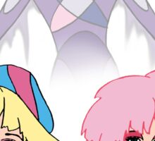 Jem and the Holograms - Jerrica/Jem with Synergy - Color Sticker