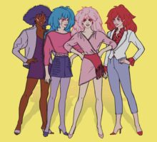 Jem and the Holograms - Group - Color Baby Tee