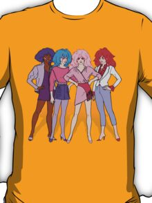 Jem and the Holograms - Group - Color T-Shirt