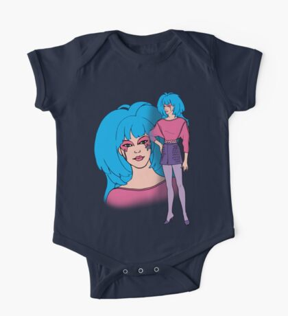 Jem and the Holograms - Aja - Color One Piece - Short Sleeve
