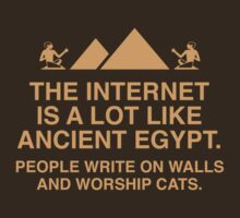 The Internet Is A Lot Like Ancient Egypt by BrightDesign