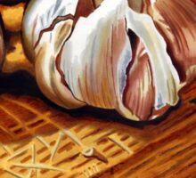 Just Garlic Sticker