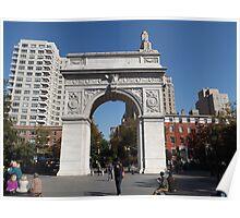 Washington Square Arch, Washington Square Park, New York City Poster