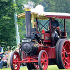Traction Engine at Shrewbury Steam Rally by ejrphotography