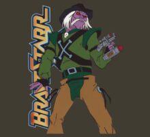 BraveStarr - Tex Hex - Color by DGArt