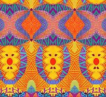 Ethnic Sun by Pom Graphic Design