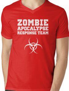 Zombie Apocalypse Response Team Mens V-Neck T-Shirt