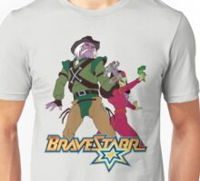 BraveStarr - Tex Hex and Vipra - Color Unisex T-Shirt