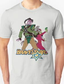 BraveStarr - Tex Hex and Vipra - Color T-Shirt
