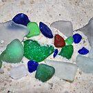 Lake Erie Beach Glass by Sheri Nye