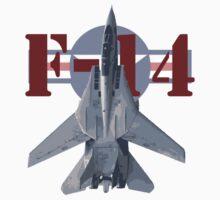 F-14 Tomcat by J Biggadike