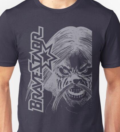 BraveStarr - Tex Hex # 2- White Line Art Unisex T-Shirt