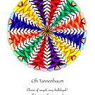 Oh Tannenbaum Mandala Poster by TheMandalaLady