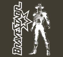 BraveStarr - Marshall BraveStarr - White Line Art by DGArt