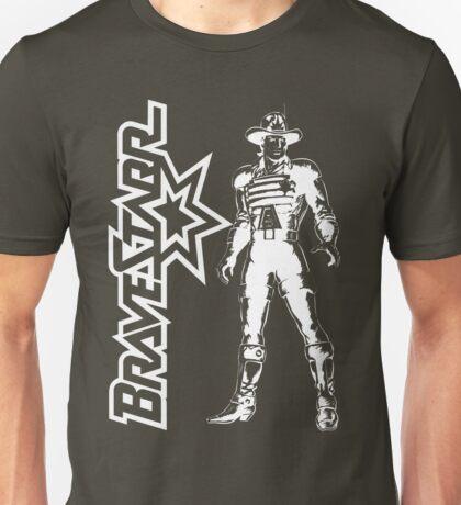 BraveStarr - Marshall BraveStarr - White Line Art Unisex T-Shirt