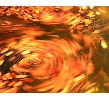 Fall Spin Photographic Print